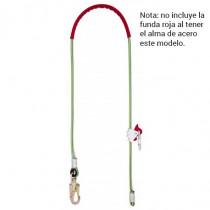Cuerda de posicionamiento escaladores arboles con dispositivo ajustable EN358 (ref. PROT30)