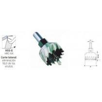 Coronoas Perforadoras HSSG rectificadas 7210010160