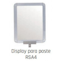 Display para poste (A4 rotatorio) RSA4