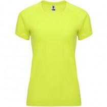 Camiseta técnica de manga corta ranglán para mujer CA04080103