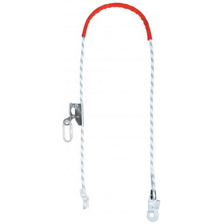 Cuerda de posicionamiento con dispositivo ajustable EN358 (ref PROT11)