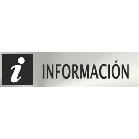 Informativa Información Acero Inoxidable Adhesivo de 0'8mm 50 x 200 mm