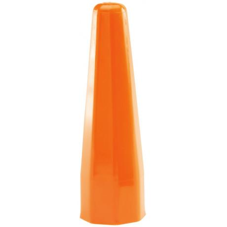 Cono de señalización de tráfico (naranja) 8052OR