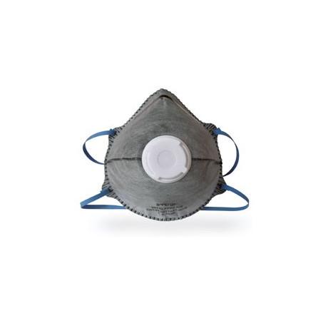 Caja de 12 Mascarillas Desechables Ffp2 Nr Con Valvula Carbon Activo