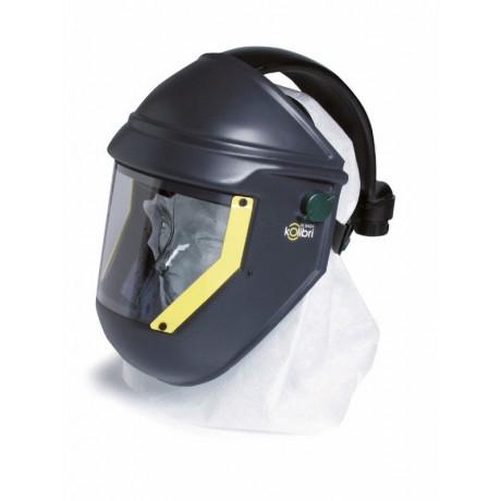 Capuces y Máscaras para Acoplar a Equipos de Aire Kolibrí (ClearFlow)