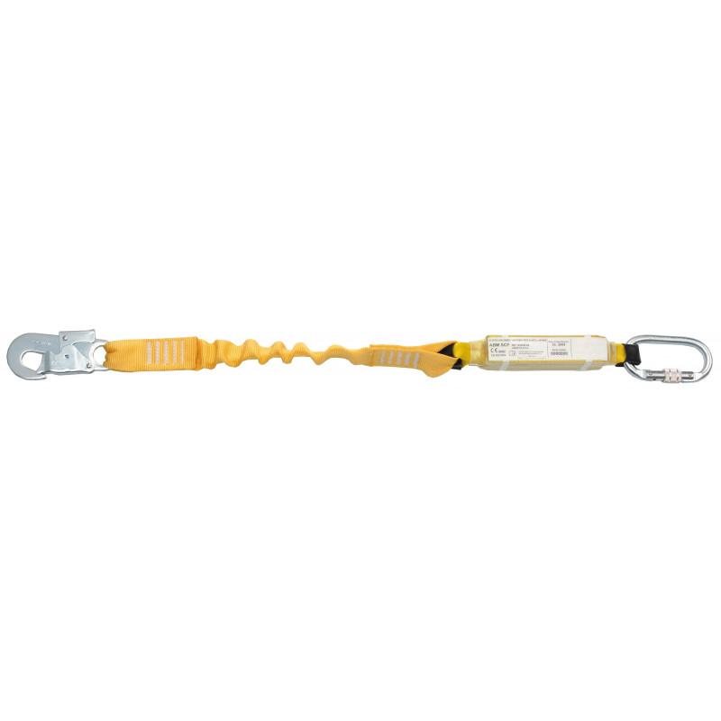Elemento amarre cinta elástica con absorbedor energía para andamios ABM SCF - EN 354, EN 355, EN 362 (ref. BW250+AZ002 )