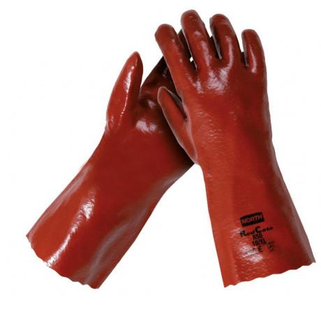Riesgos Químicos 12 pares de Guantes Red Cote Plus