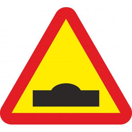 Señal Vial Metálica Resalto Lado 700 mm
