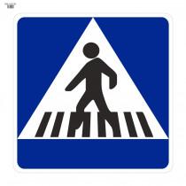 Señal Vial de Bolsa Situación de Un Paso de Peatones 700 x 700 mm