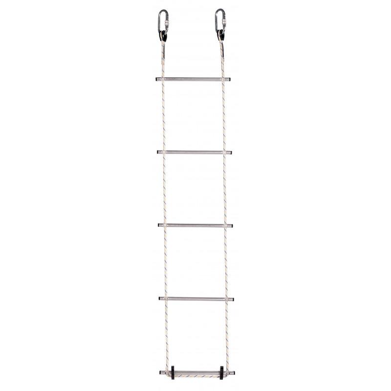 Escalera de cuerda de poliéster - Peldaños 310 mm (ref. DL010)