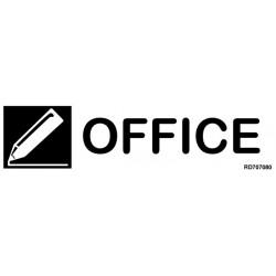 Informativa Office Acero Inoxidable Adhesivo de 0'8mm 50 x 200 mm