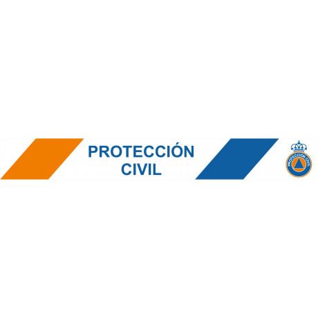Cinta de Balizamiento Protección Civil 75 mm x 200 m x 0'05 mm