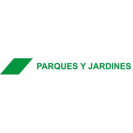 Cinta de Balizamiento Parques Y Jardines 75 mm x 200 m x 0'05 mm