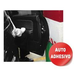 Tope Aparcamiento Autoadhesivo 400 x 300 x 70 mm