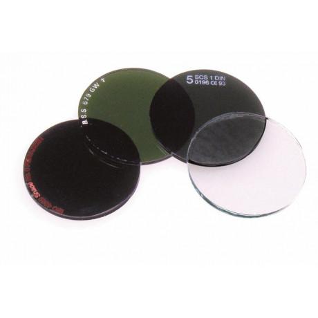 Caja de 50 Filtros Para Gafas De Soldadura (Cristales Redondos)