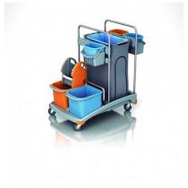 Carro de limpieza profesional TSS-0008