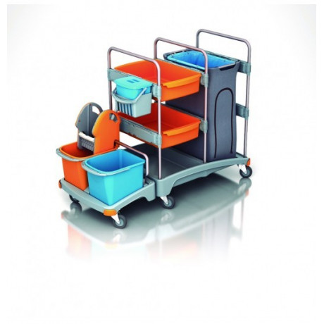 Carro de limpieza profesional TSZ-0003