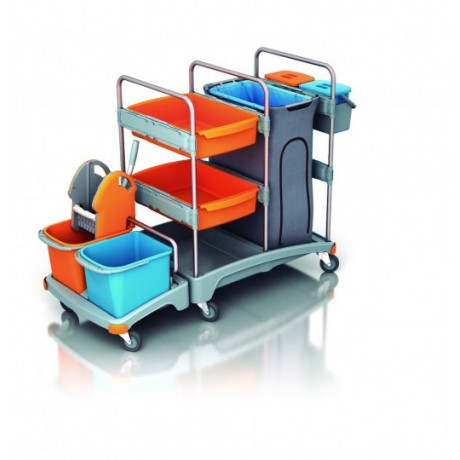 Carro de limpieza multifuncional TSZ-0004