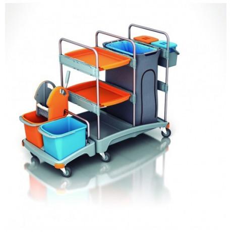 Carro de limpieza profesional TSZ-0007