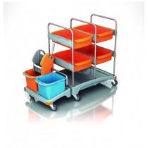 Carro de limpieza multifuncional TSZ-0008