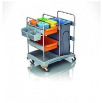 Carro de limpieza multifuncional TSZ-0012