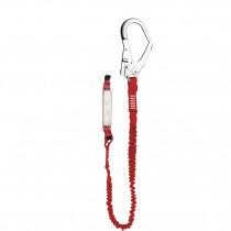 El. amarre cinta elástica absorbedor energía gancho 56mm EN354/355/362