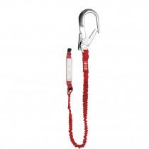 El. amarre cinta elástica absorbedor energía gancho 64mm EN354/355/362