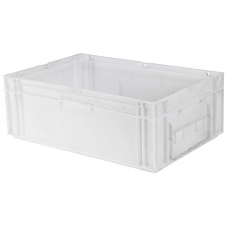 Caja apilable 40 L. Norma europa 600x400x214 mm