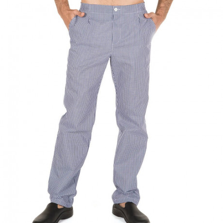 Pantalón vichy marino