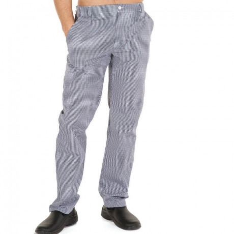 Pantalón vichy con presillas