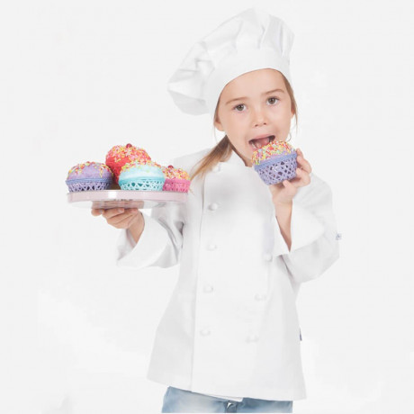 Chaqueta cocinero infantil