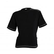 Camiseta Cro. M/Corta Cremallera en Hombro