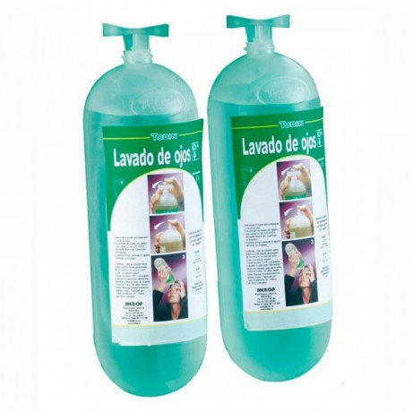 Lavaojos botellas repuesto