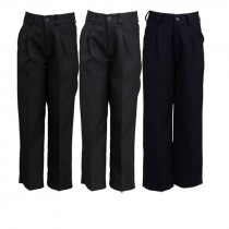 Pantalón media goma y cremallera