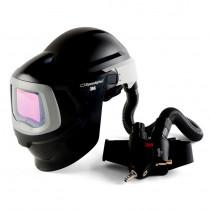 Pantalla 9100 MP Casco de Soldadura y Protección con 9100 y Suministro Aire Versaflo V500E