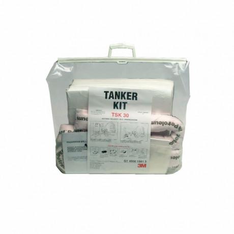Absorbente hidrocarburos, kit para derrames (30 litros) TSK30 - 2 kits