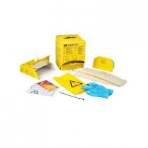 Kit desechable para derrames con sistema dispensador DRSKDP - 4 kits/dispensador (12 kits)