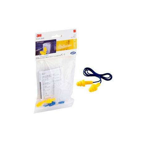 ULTRAFIT con cordón y cajita guardatapones UF01100 (200 pares)