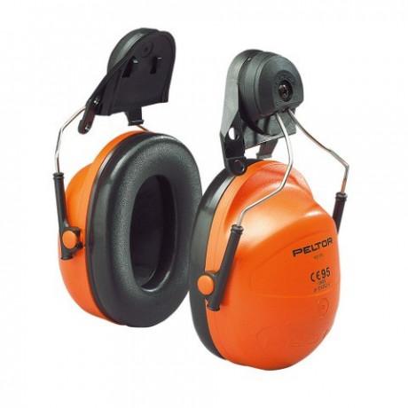 Orejera amarilla para casco dieléctrico con anclaje P3K H31P3K01 300GU (20 pares)