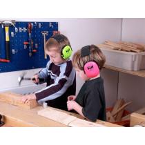 Orejera para niños Peltor Kid verde neón H510AK442GB (6 orejeras)