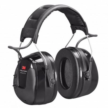3M™ PELTOR™ WorkTunes™ Pro FM Radio orejera negra, diadema HRXS220A (10/caja)