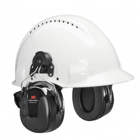 3M™ PELTOR™ WorkTunes™ Pro FM Radio orejera negra, anclaje a casco HRXS220P3E (10/caja)