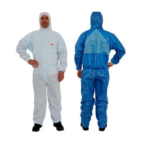 Prenda de protección cómoda frente a polvo y salpicaduras leves tipo 5/6 4532+ (20 Unds)