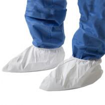 Cubrezapatos en polipropileno laminado de polietileno blanco 442 (150 pares)