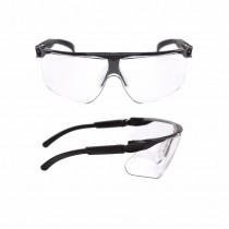 MAXIM Gafas montura negra PC incolora DX 13225-00000M (20 gafas)