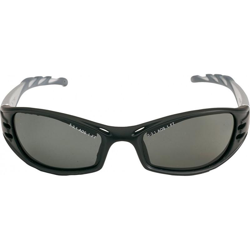 FUEL Gafas montura negra/plata PC gris polarizadas AR-AE 71502-00005M