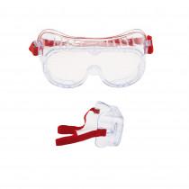 4800 Gafas PC incolora. Ventilación indirecta. 71359-00001M (20 gafas)
