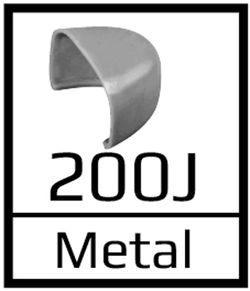 Puntera 200J acero
