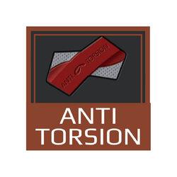 Suela anti torsión