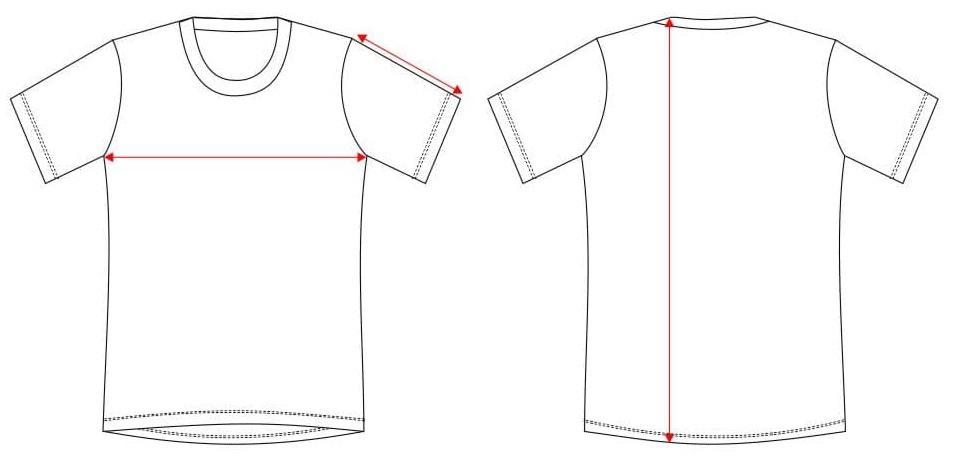 Tallas Camiseta industrial 0066S